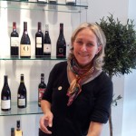 Brigitte Chevalier at the Outsiders tasting, London Nov 2012